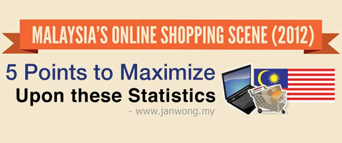 5 points to take note of ecommerce stats in malaysia 2012
